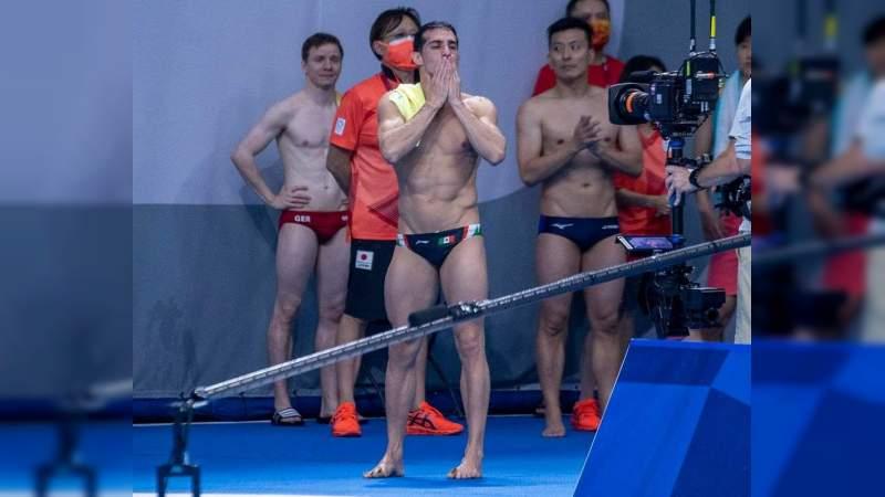 Rommel Pacheco se retira con sexto lugar en Tokio 2020