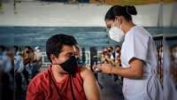 Constató Gobierno de Uruapan, vacunación de primera dosis contra Covid-19 en personas de 30 a 39 años