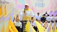 Se suma PRD estatal a la Cruzada por la Legalidad y Paz de Michoacán y México