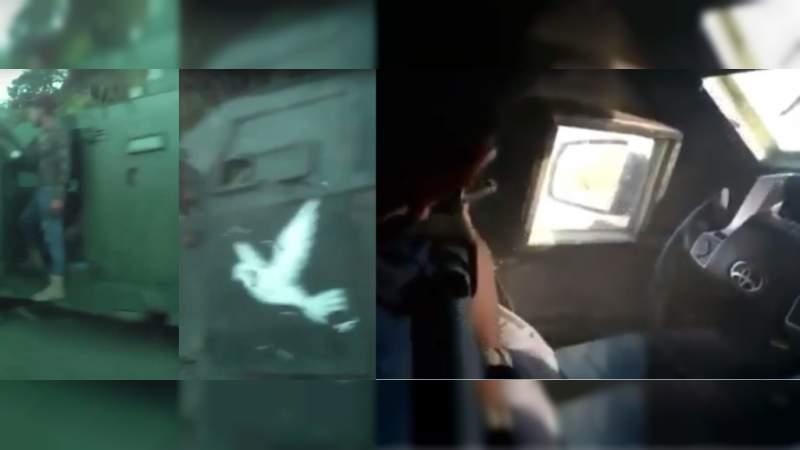 100 camionetas de sicarios a Coalcomán: Chocan Cárteles y se presume toma de plaza