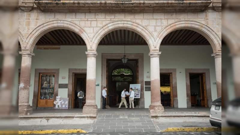 Gobierno de Morelia refuerza medidas preventivas en zonas comerciales del centro histórico