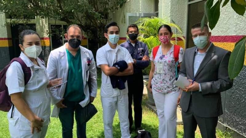 Buscan trabajadores del sector salud, alternativas de solución a través del FIFEDS