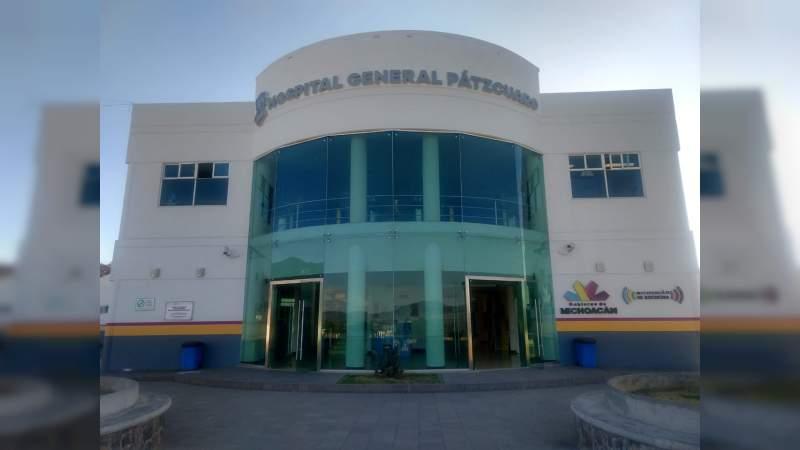 Oficialmente el Hospital General de Pátzcuaro está saturado por pacientes COVID: Sector Salud