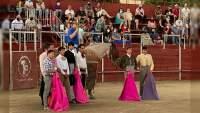 Muy bien los morelianos Isaac Fonseca y Patricio Ochoa en la tienta de machos de ayer en España