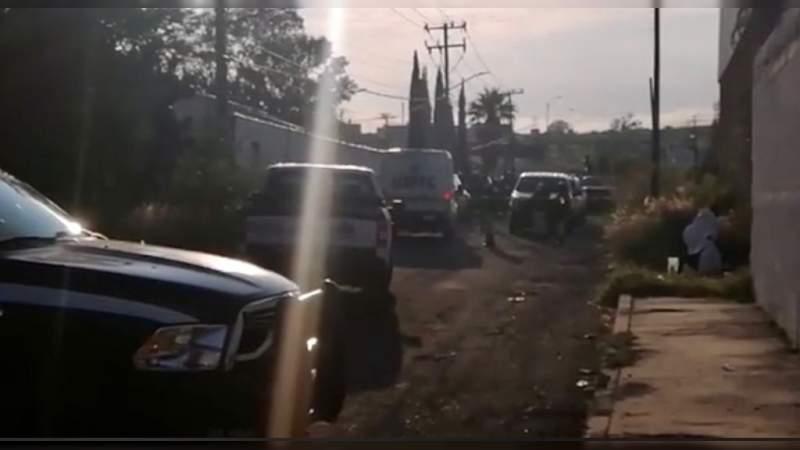 Ejecutan a 5 en colonia Ciudad Industrial de Morelia, Michoacán
