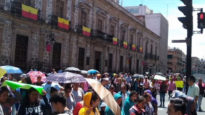 Este martes seguirán manifestaciones en Morelia