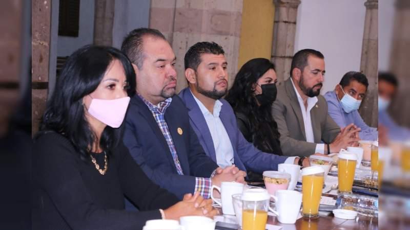 El GPPRD concluye Legislatura con aportación a iniciativas de reforma y ley para Michoacán