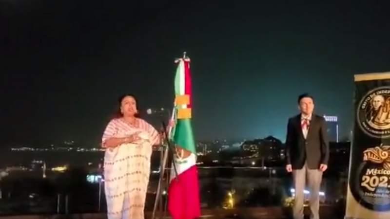 Cónsul lanza arenga dedicada a AMLO