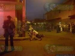 Motosicario ejecuta a persona en Zamora
