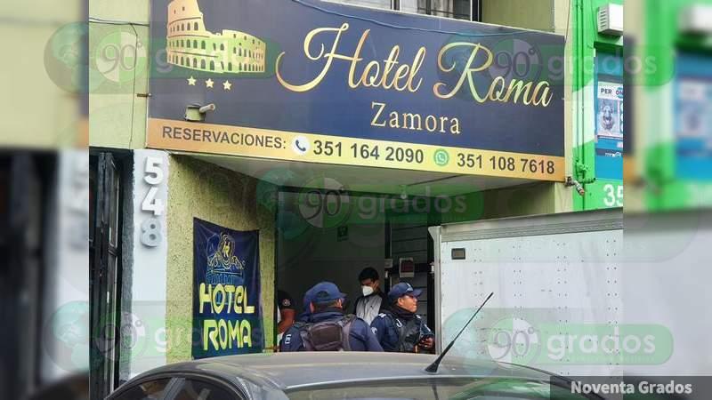 """A recepcionista del """"Hotel Roma"""", de Zamora; le cortaron el cuello y le dejaron mensaje"""