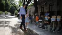 Niñas y niños llenan de talento la Calzada Fray Antonio de San Miguel: SeCultura