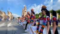 Realizan flashmob en Morelia, Michoacán, bailarines se apropian del Centro Histórico