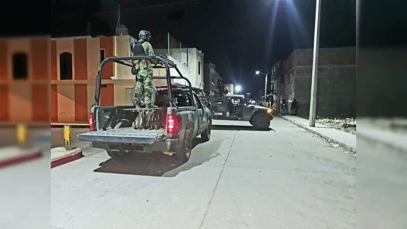 Reportan balacera en al menos 10 colonias de Zamora