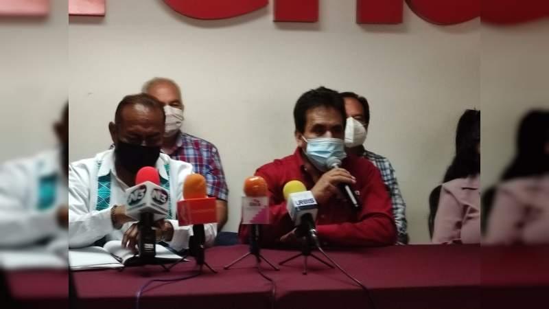 Morenistas advierten que no dejarán que Giuliana sea dirigente en Michoacán