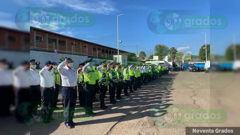 Rinde protesta Eduardo Arturo Bailleres como director de Tránsito y Movilidad del Estado de Michoacán