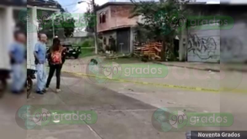 Un muerto y tres heridos en ataque a tiros en Uruapan, Michoacán
