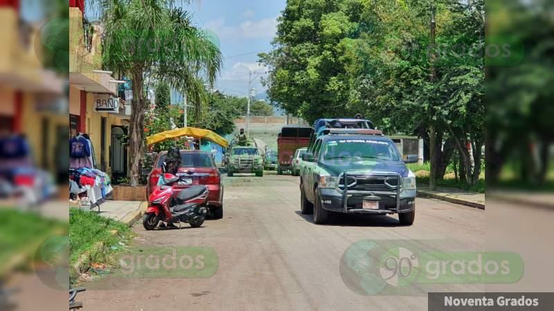 Atacan con armas largas a elementos de la Policía Municipal de Zamora