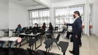 Este jueves, alumnos de la UMSNH regresaron a clases presenciales