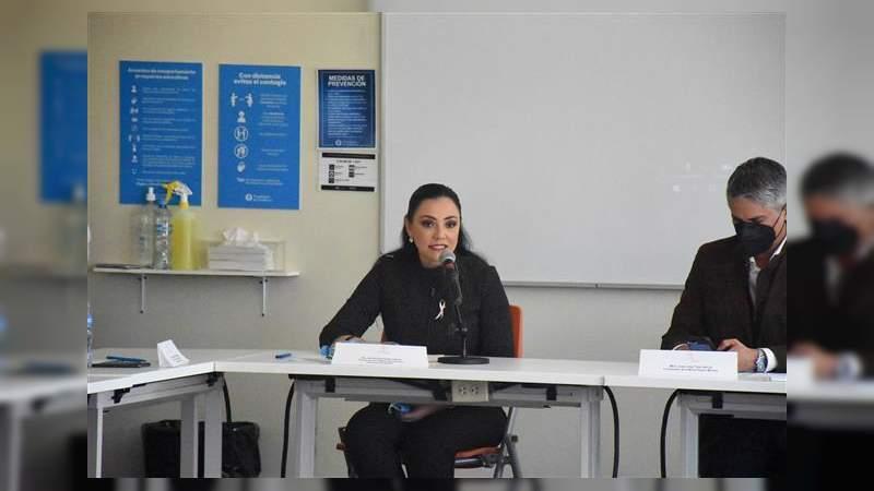 Una prioridad, gasto en materia de seguridad pública: Adriana Hernández