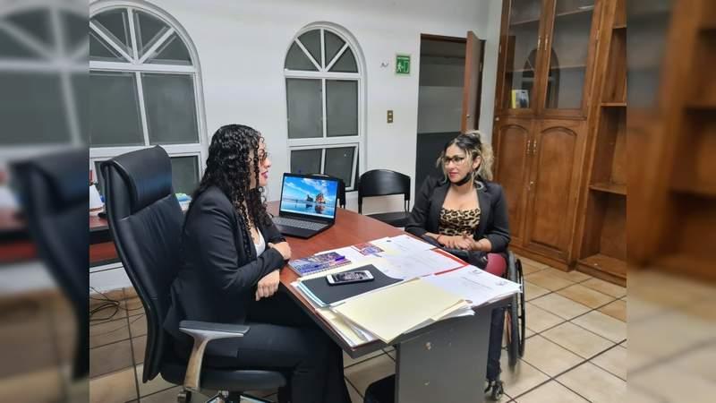 En Uruapan, Michoacán, realizan ejercicio en pro de la inclusión