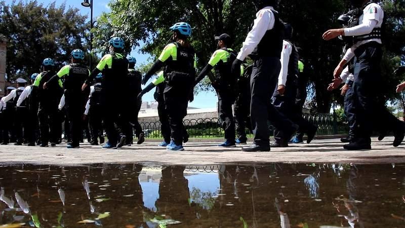 Policía de Morelia renovada y fortalecida regresará al Top Ten de las ciudades más seguras: González Cussi