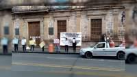 SUEUM se manifiesta en la avenida Madero