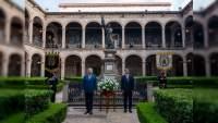 Celebra UMSNH el CIV aniversario de su fundación