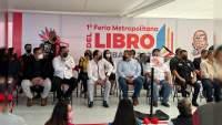 Inauguran la Feria Metropolitana del Libro, en Pátzcuaro