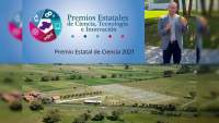 Otorgan Premio Estatal de Ciencia 2021 a investigador de la UNAM