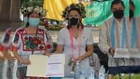 Conmemoran el Día de la Medicina Tradicional, en Uruapan.
