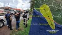 Implementa Gobierno de Uruapan un grupo especial de Contingencia tras paso de huracán Rick