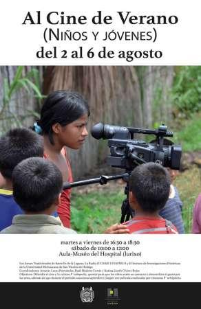 Ofrece UMSNH jornada de cine para comunidades indígenas