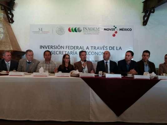Sin precedentes la derrama de 2,191 mdp en créditos de la Secretaría de Economía para Michoacán