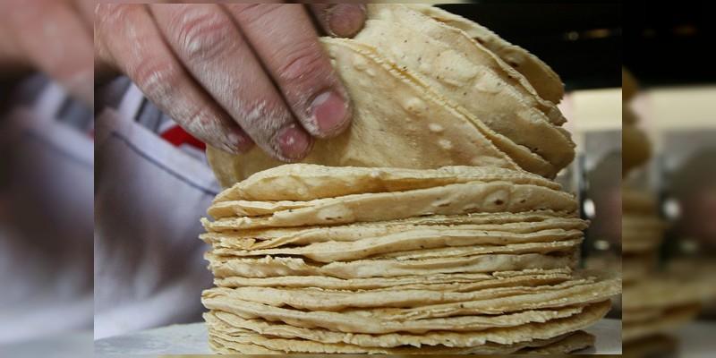 No subirá el precio de la tortilla en Michoacán; Profeco
