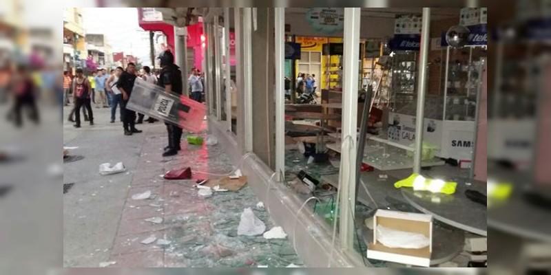 Hasta 800 empresas afectadas por vandalismo: Concanaco