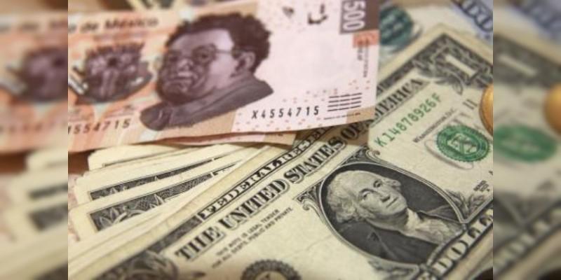 Hasta en $22.29 se vende dólar en bancos de la capital mexicana