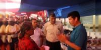 """Con sentido humano se regulariza tianguis en mercado del """"Ahuate"""""""
