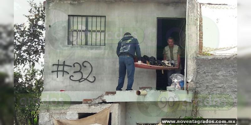 Localizan cadáver con huellas de violencia en Zamora, Michoacán