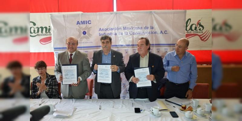 Solicita AMIC al gobierno autorice incremento a los costos de las obras