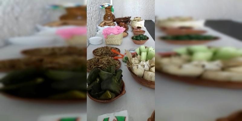 Artesanías de Tenencias de Morelia, presentes en Festival Gastronómico �??Mano a mano�?�