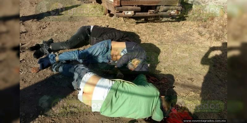 Fin de semana violento: Ejecutan a 7 en Michoacán