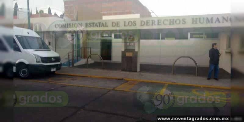 Comuneros de Caltzontzin denuncian ante la CEDH agresiones de elementos de la SSP