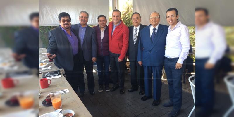 Ex dirigentes juveniles del PRI refrendan su apoyo a Pepe Martínez