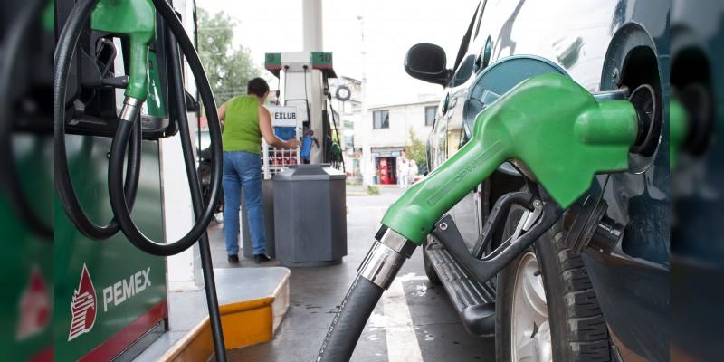 Litro de gasolina Magna costará 16.54 pesos en promedio este martes