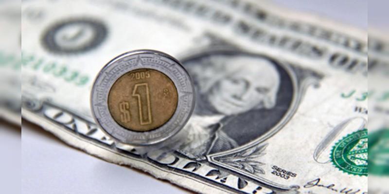 Dólar se cotiza hasta en 19.95 pesos en bancos capitalinos