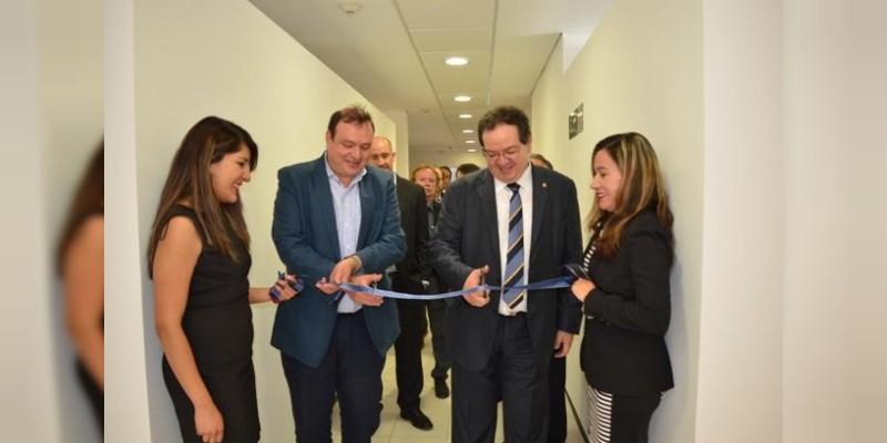 Inaugura el Instituto de Geofísica laboratorios de primer nivel de geotermia, en la Unidad Michoacán