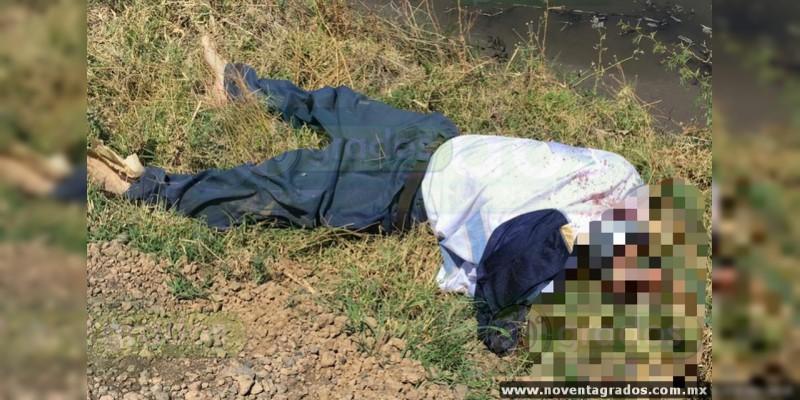 Baleado y maniatado localizan cadáver de un hombre en Zamora, Michoacán