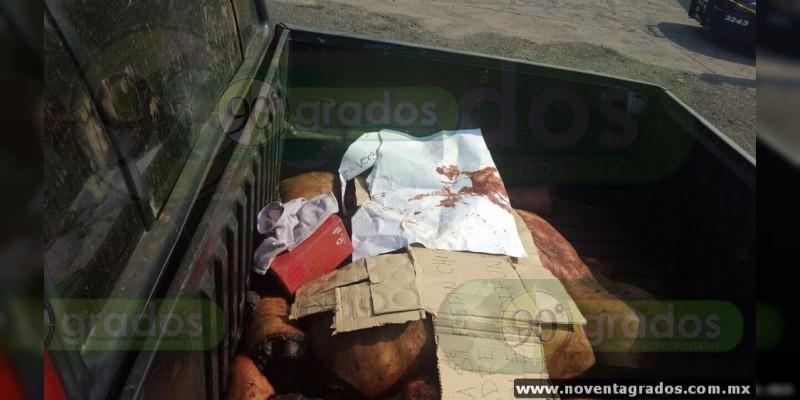 Identifican a los dos descuartizados en Parácuaro; eran vecinos de Apatzingán