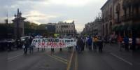 Anuncia CNTE marcha este jueves en Morelia