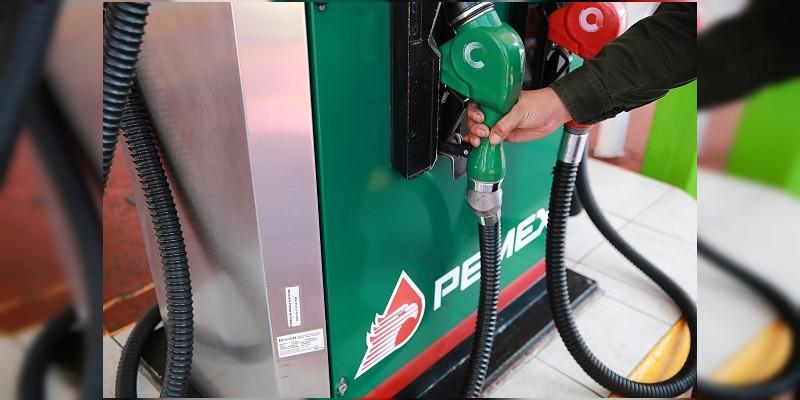Gasolina, entre 16.51 y 18.28 pesos este martes
